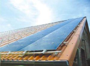 Système de montage de toit solaire (Frameless Module) (Système de montage solaires PV SOLAR KIT de montage, support de l'énergie solaire, le rail en aluminium)