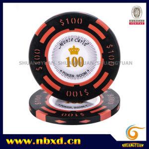 14G 2-Tone Monte Carlo de l'argile de la valeur des jetons de poker (sy-E26)