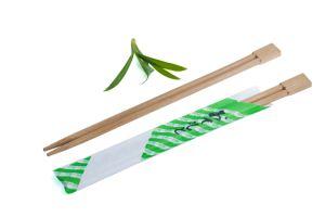La massa di bambù delle bacchette della natura incide la bacchette