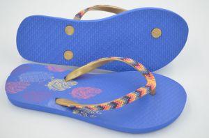 Синий цвет Шлепанцы для девочек