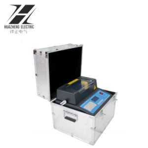 ASTM D877 Cina che vende il tester dell'olio dell'apparecchiatura di collaudo 100kv Bdv