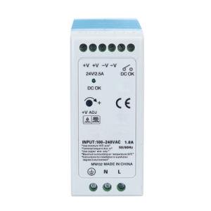 60W 12V 5A cambio de carril DIN de luz LED de Alimentación para el envío gratuito