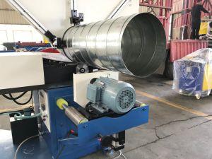 Tubo Circular HAVC Ysdcnc Ventilação Dutos Fornecedor máquina de formação de tubos em espiral