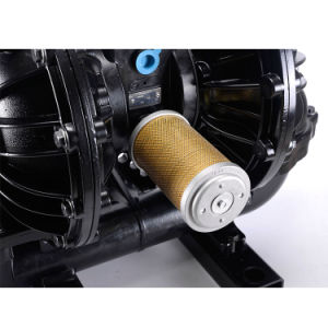 3 Polegadas portátil ar impulsionado a transferência de líquidos inflamáveis corrosivas bomba pneumática de diafragma
