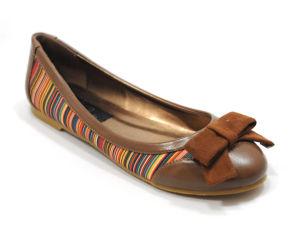 Mode Femmes ballerine Appartements Prix bon marché Mesdames les chaussures plates avec Bow