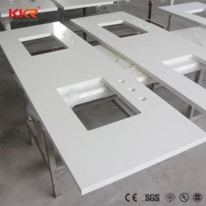 Quartz artificielle mousseux blanc Comptoir de cuisine (181110)