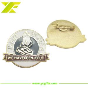 Customizdeの金属は制作する昇進のギフト(LP01-C)のためのエナメルの折りえりPinを
