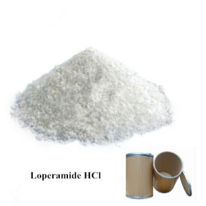 China-Zubehör Loperamide Hydrochlorid34552-83-5 Loperamide HCl für Antidiarrhötikum