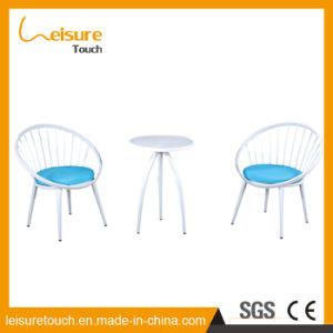 Spätestes Entwurfs-Empfang-Raum-Tuch-Kunst-Aluminiumlegierung-Sofa-gesetzte Innenmöbel