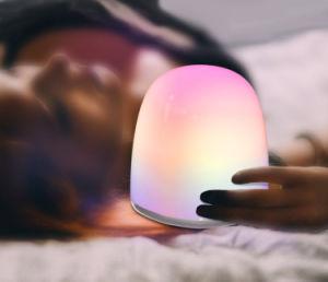 Ricarica dell'indicatore luminoso di umore del USB LED con i colori