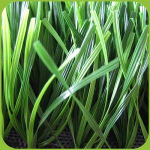 Umweltfreundliches Soft Tragen-beständiges Sports Artificial Grass für Fußballplatz