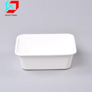 使い捨て可能なプラスチック食糧容器長方形ボックス
