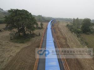 Transportador de cinta de curva de larga distancia
