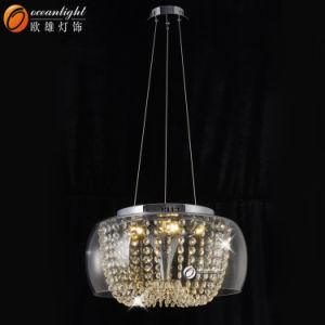 LED moderno lustre de cristal em iluminação moderna Luminária de teto para o Hotel, Restaurante ou de uso doméstico