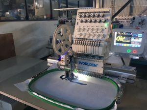 Wd-1201j única Cabeça 12 Calculador computadorizado agulha máquina de bordado