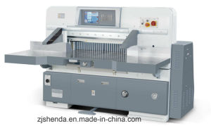 Cortador de papel informatizada hidráulico (SQZ-92CTN)