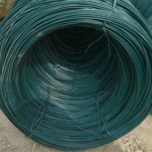 China Fornecedor de arame de ferro revestida de PVC