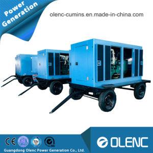 50kVA Generator van de Aanhangwagen van de Krachtcentrale de Mobiele met Geluiddicht Luifel en ATS