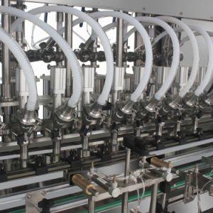 Controlados por PLC Servoémbolo automático de la botella de líquido de relleno de máquina de llenado de aceite de máquinas de llenado con certificado ISO para la máquina de embalaje
