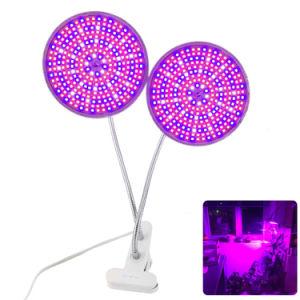 En 2018 à double tête usine 290 LED grandir la lumière à spectre complet de la lampe Support de bureau