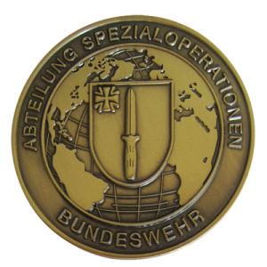 단순한 설계 주문 고대 금관 악기 금속 제 2 도전 동전 (242)