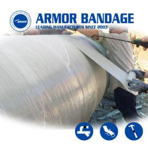 Strong прочность на разрыв трубопровода ремонта утечек Оберните ленту броня упаковку