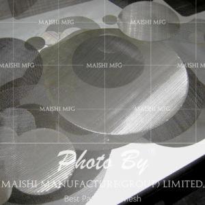 공기 단단한 급수 여과기를 위한 스테인리스 필터 디스크
