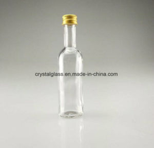50ml de álcool garrafa de vinho de vidro