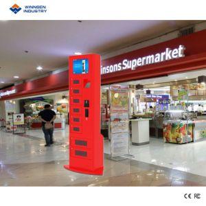 Innendigitalsignage-Karte/Münzen-Zahlungs-beweglicher Ladung-Kiosk