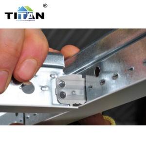 Componente nera di griglia del soffitto della scanalatura sospesa barra di T