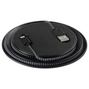 Venta caliente Qi Wireless cargador de emergencia Pad para teléfono móvil