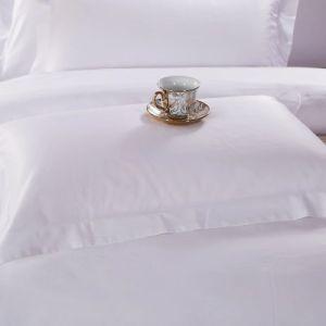 Hotel Cuatro Estrellas Lujo 330tc sábana de algodón satinado montado (JRD939)