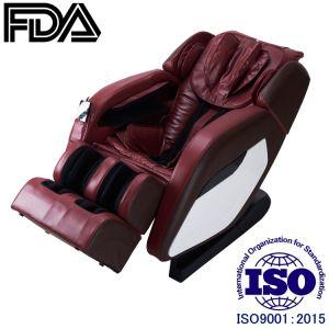 Rojo vino ingeniería humana sillón de masaje de cuerpo completo