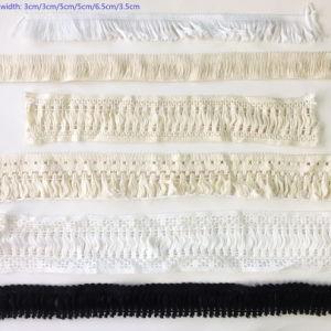 Guarnizione dell'indumento della fascia della tessitura della nappa del bordo del nastro del cotone di modo
