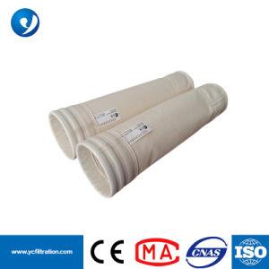 En el mercado de Filipinas 1.6-2.0mm de espesor de la bolsa de filtro colector de polvo de PPS