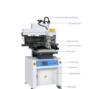 Semi macchina della stampante dello stampino dello schermo dell'inserimento della saldatura di alta precisione SMT di automazione