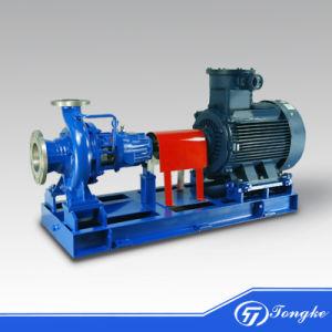 Stade électrique unique fin d'aspiration des pompes à eau de drainage centrifuge horizontale