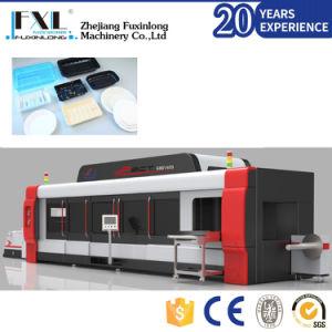machine de thermoformage automatique pour le godet en plastique couvercle/couvercle