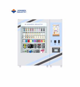De Automaat van de Salade van het Ontwerp van Winnsen 2019 Met het Systeem van de Lift en van de Transportband