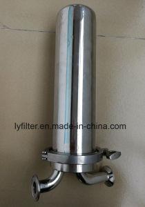 Acero Inoxidable SS 304 316 La caja del filtro filtro de aire estéril para el sistema de filtración de aire comprimido