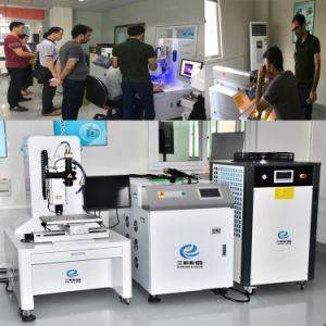 YAG láser de fibra soldadora automática para sanitarios