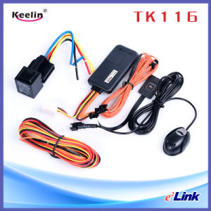 Высокая Quatily мотоцикл для защиты от краж GPS Tracker с микрофоном/кнопку парового удара (ТК116)