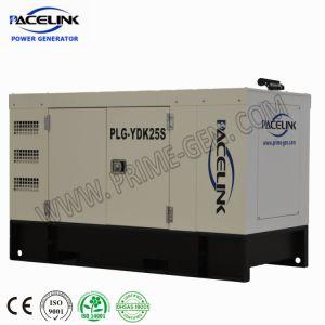 22kVA Yangdong dreef Stille Diesel Genset met Ce/ISO aan