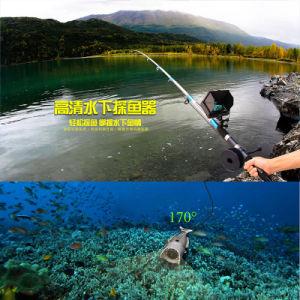 1080P HD de la pesca submarina cámara con monitor de 5 pulg.