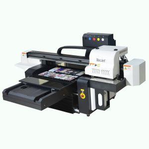 Tecjet Dx5, dx7, XP600 6090 do cabeçote de impressão a impressora plana UV invisível Tinta UV