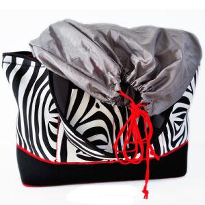 Housse en néoprène souple d'impression à la mode des sacs fourre-tout sac à main (NTB17)