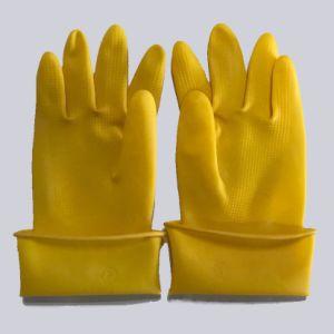 90g желтый загустеет промышленных натурального каучука ближний свет рабочие перчатки