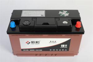 Carro de Lítio 12V bateria de arranque e paragem 100Ah 100-20L