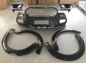 Paragolpes delantero Bodykit guardabarros bengalas para Ford Ranger T7