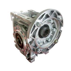 Caja de aluminio serie Nmrv transmisión de potencia caja de engranajes sin fin